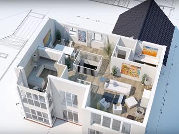 Преимущества и недостатки индивидуальной 3D визуализации проекта