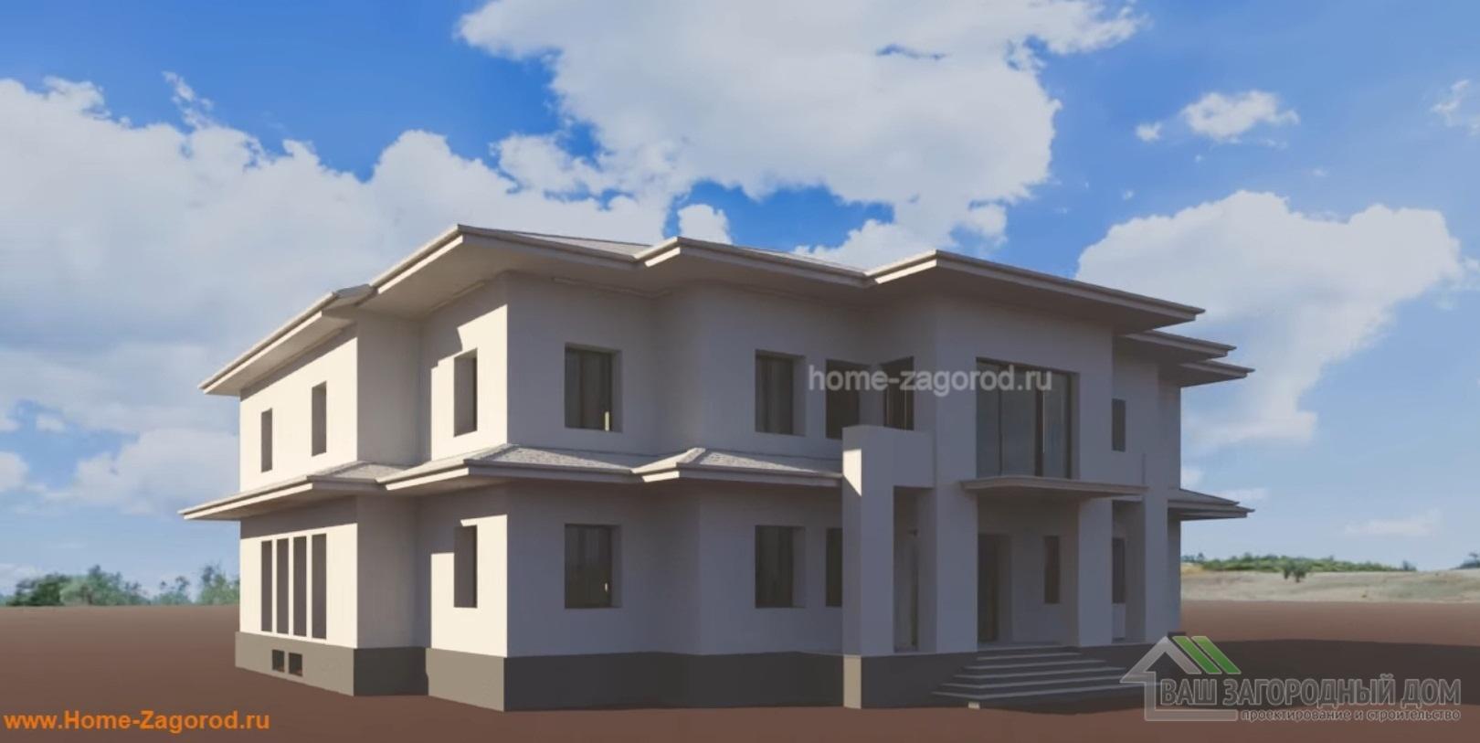 1 Этап: Создание 3D модели дома