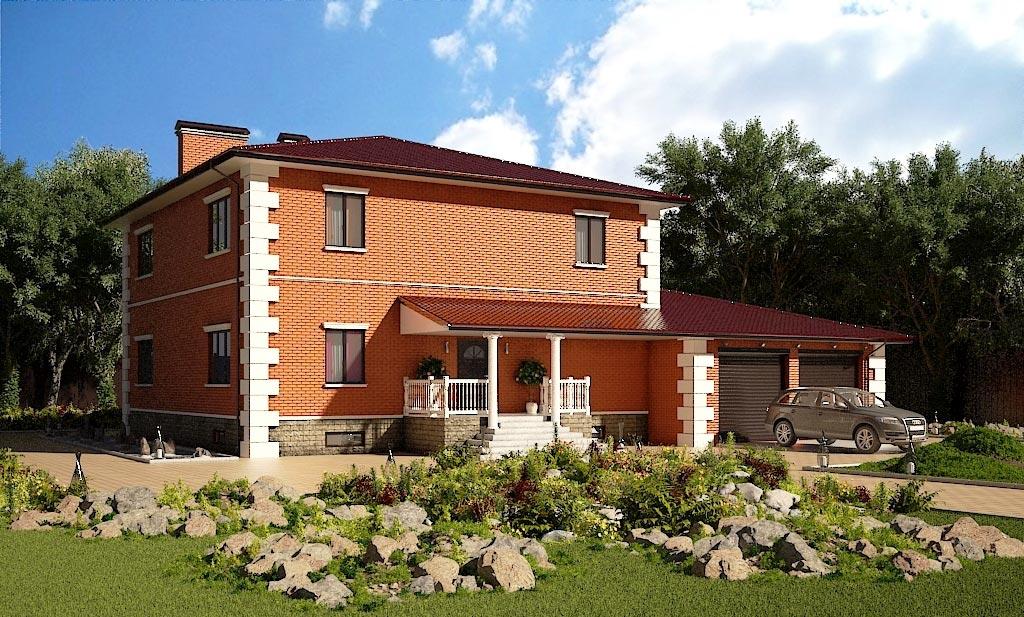 Проект дома К-004