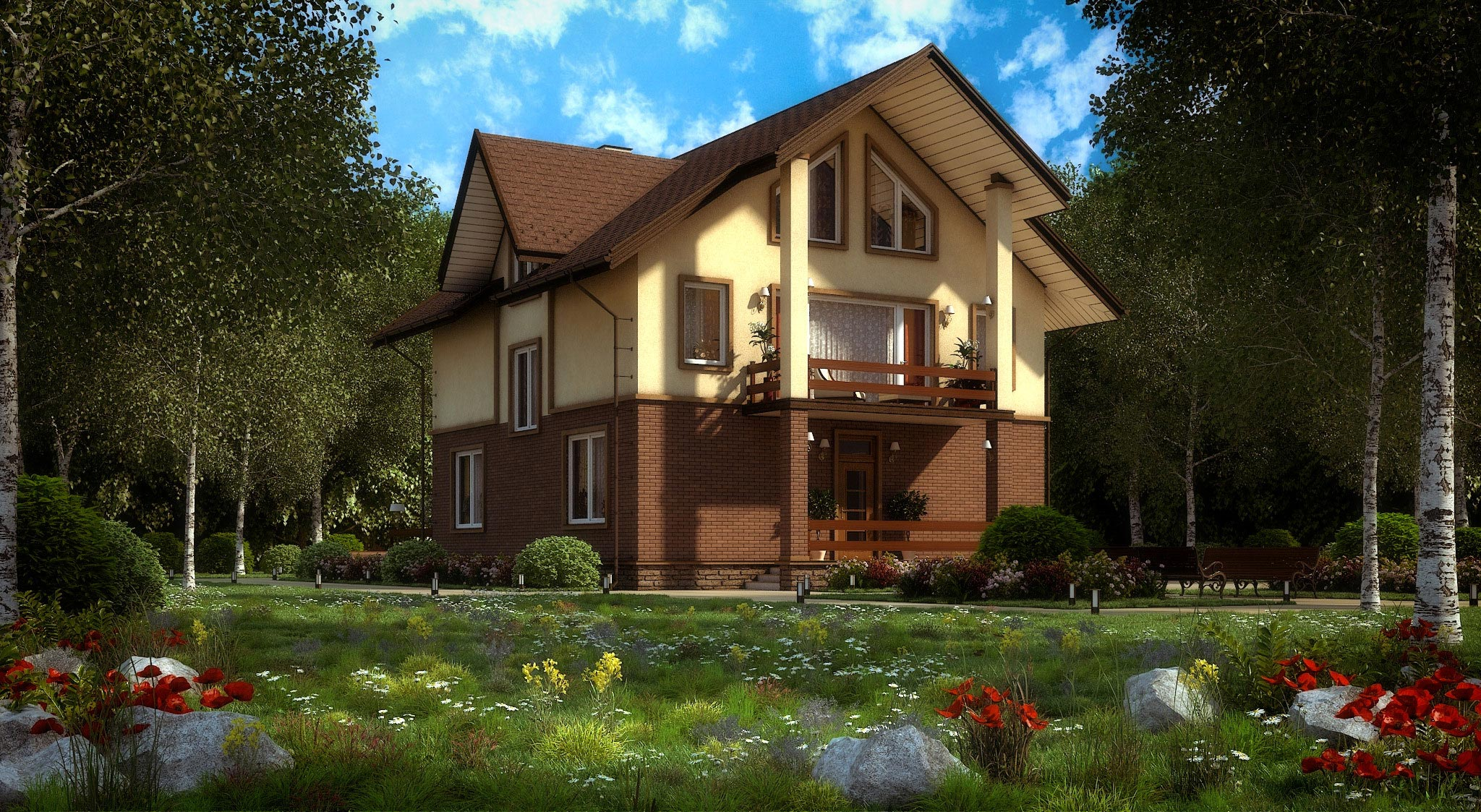 Дизайн дома в стиле модерн, фото и цены