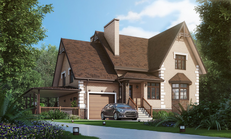 Проект дома К-401