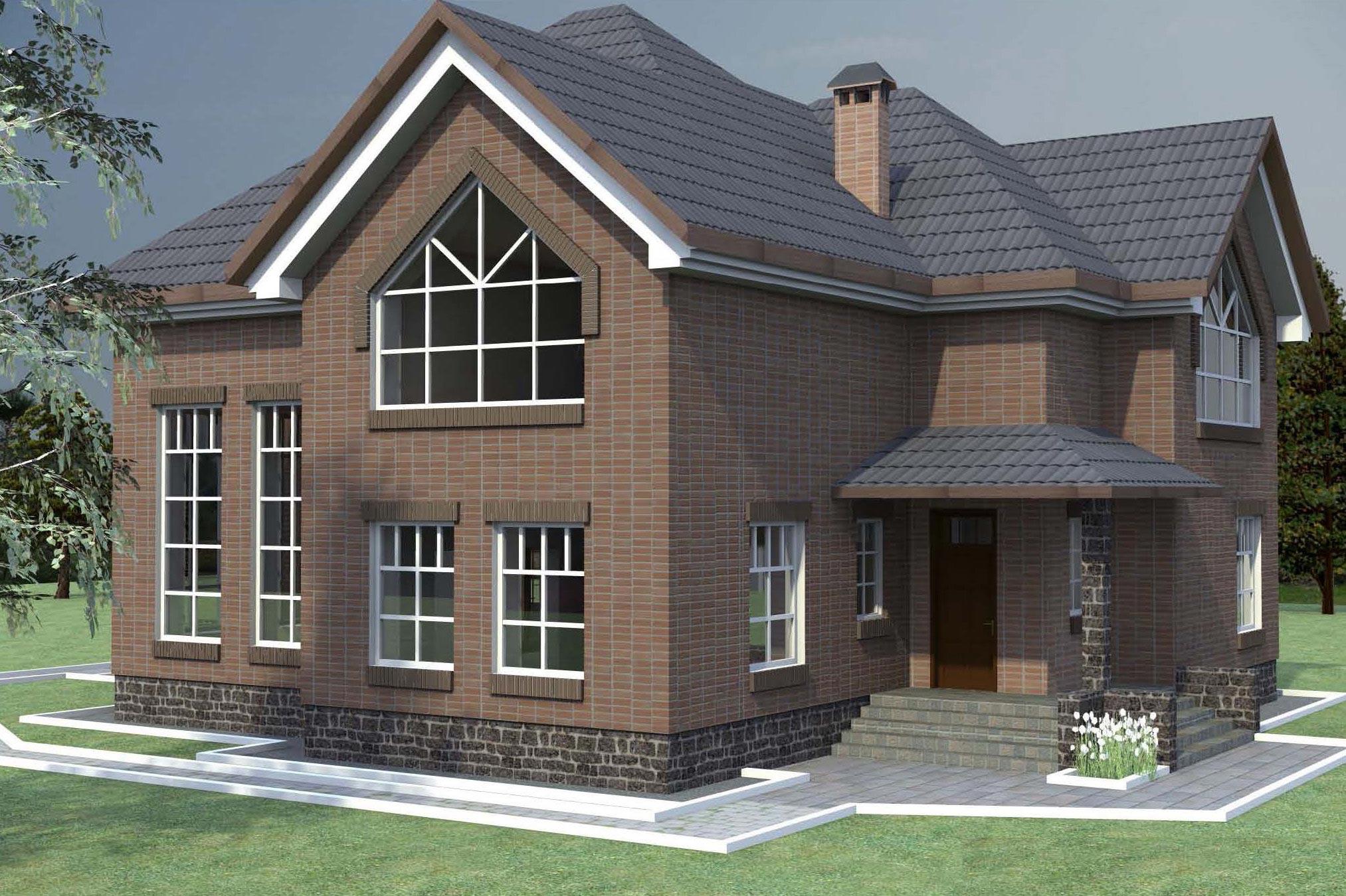 Проекты двухэтажных домов до 80 кв.м, фото и цены
