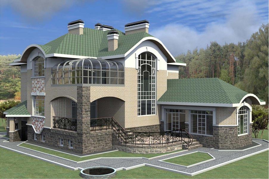 Проект дома К-126