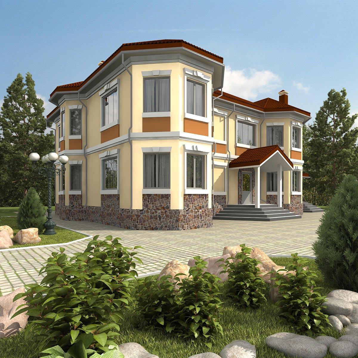 Проект дома К-138