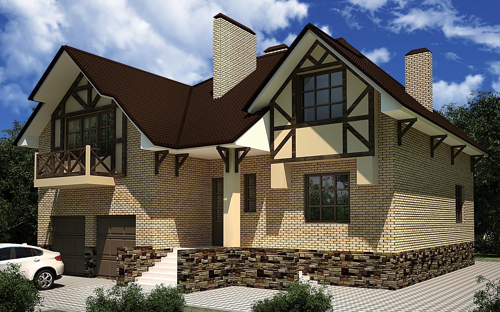 Проекты двухэтажных домов от 100 – до 120 кв. м, фото и цены