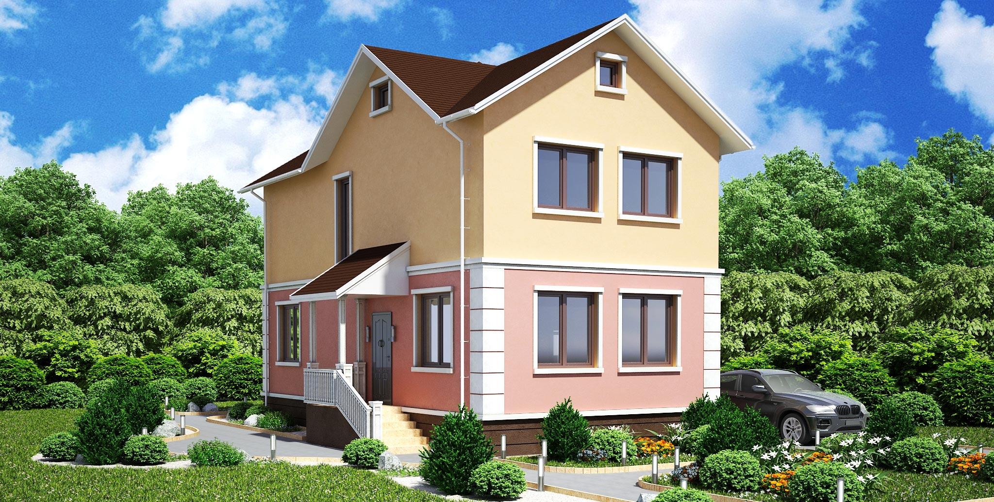 Проект дома К-217