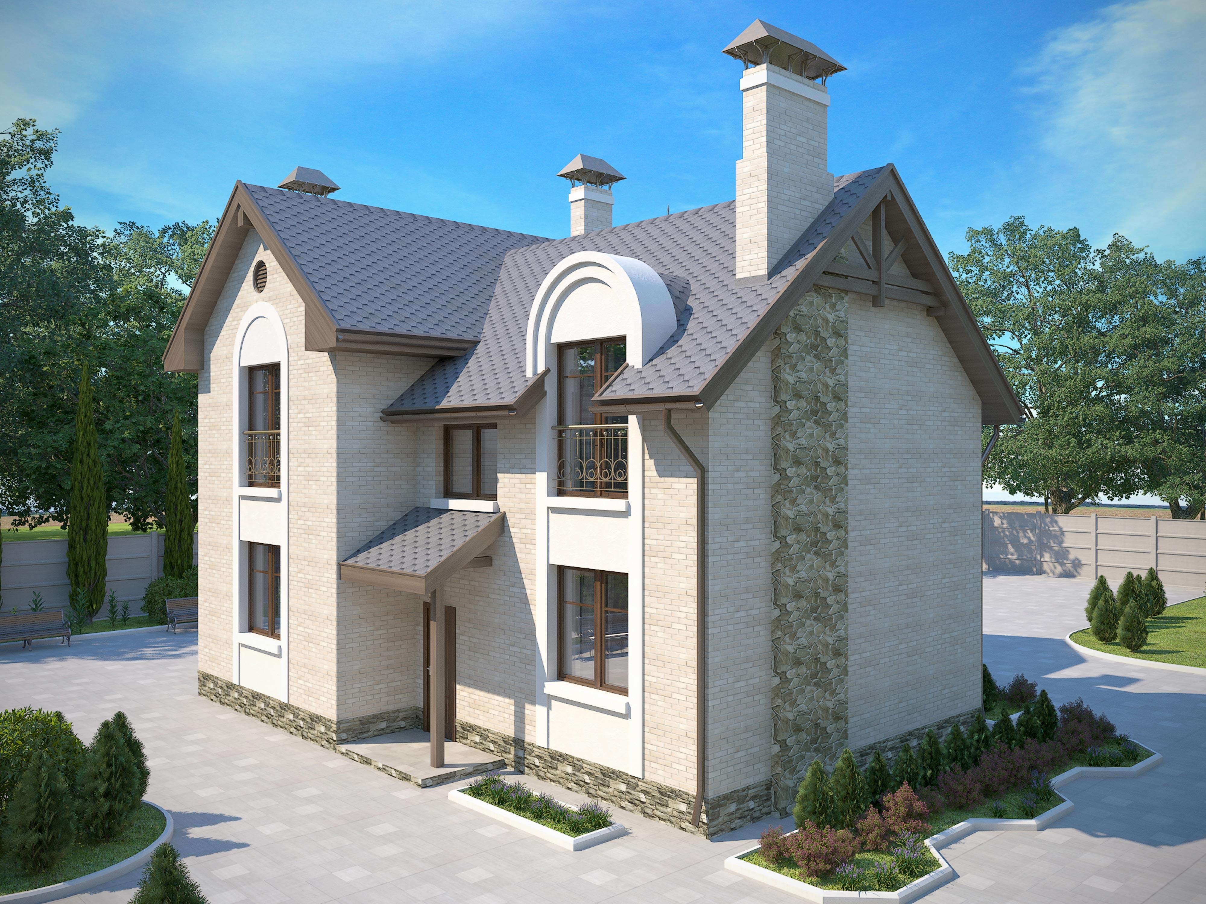Готовые проекты трехэтажных домов, фото и цены