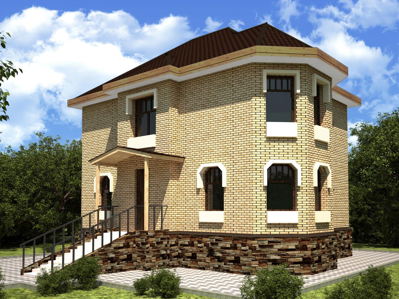 Проекты двухэтажных домов от 120 – до 150 кв. м, фото и цены
