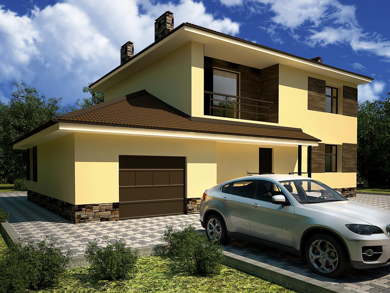 Проекты двухэтажных домов от 100 – до 150 кв. м, фото и цены