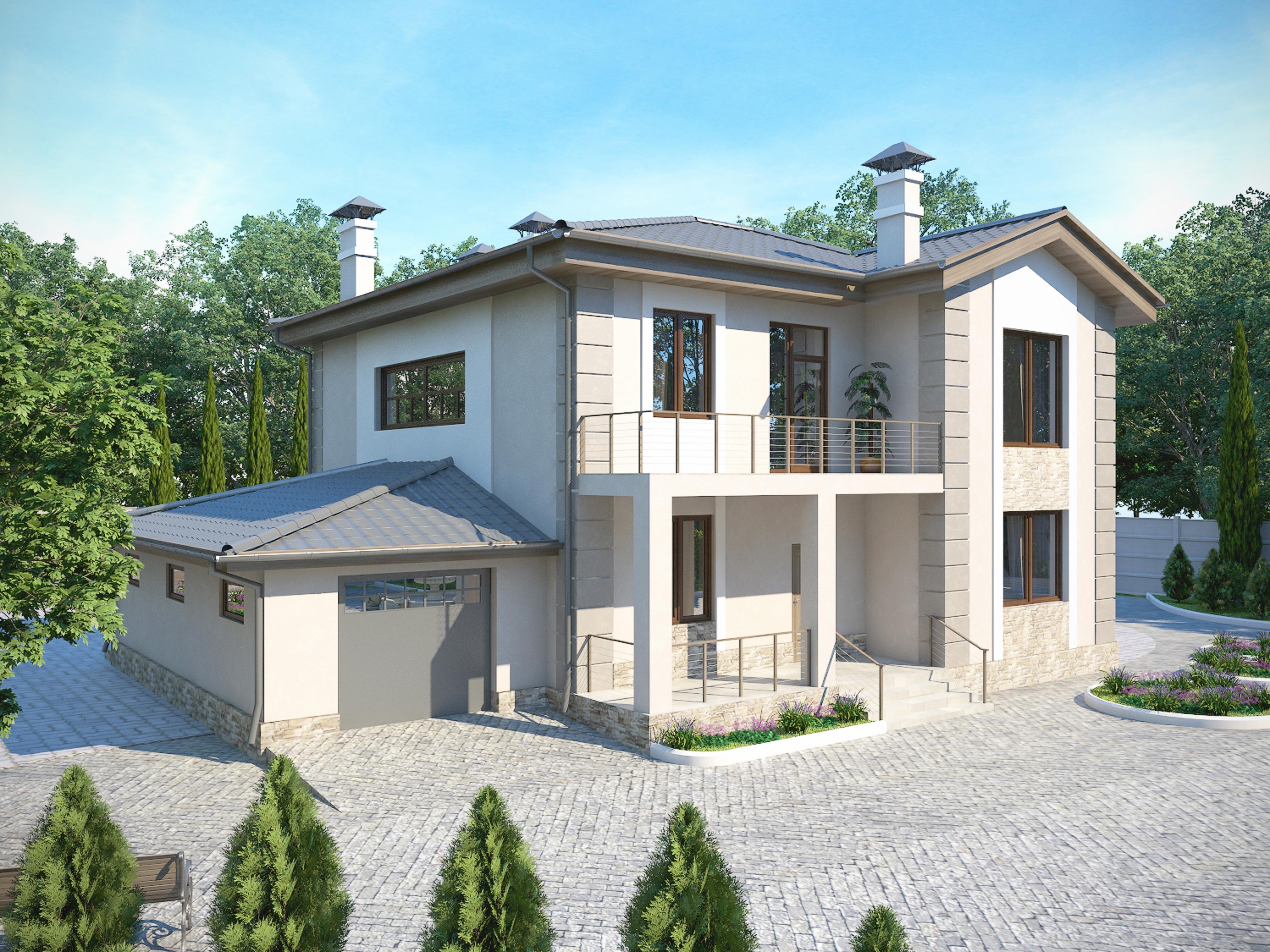 Проект дома К-043