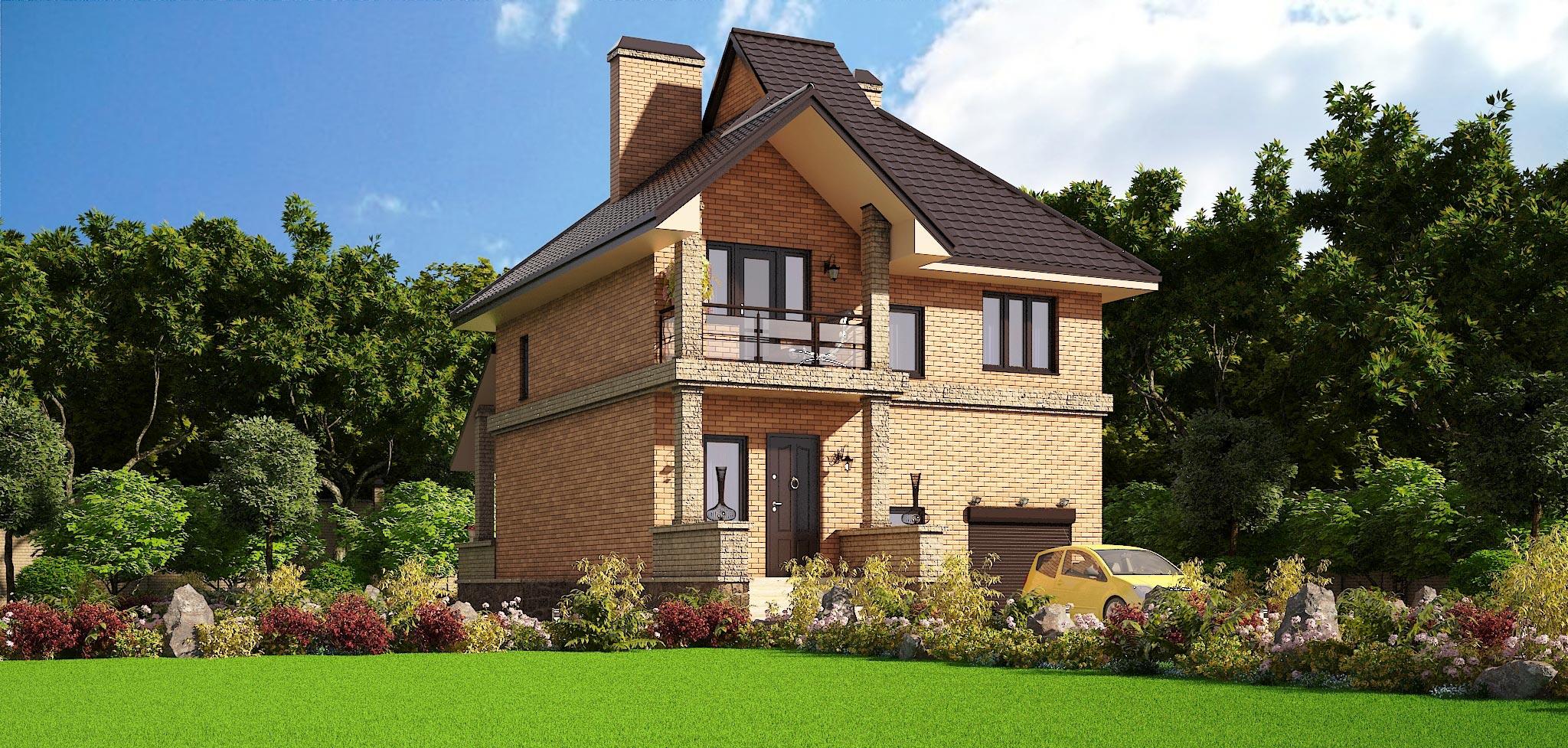 Проект дома К-047