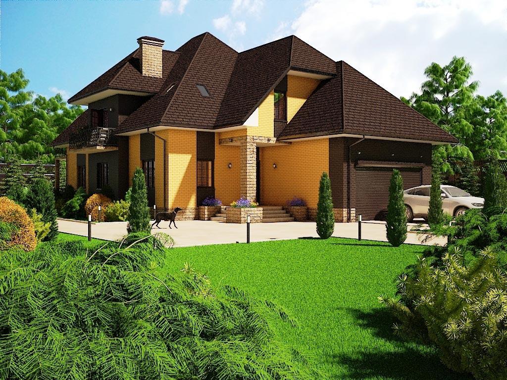 Проект дома К-056