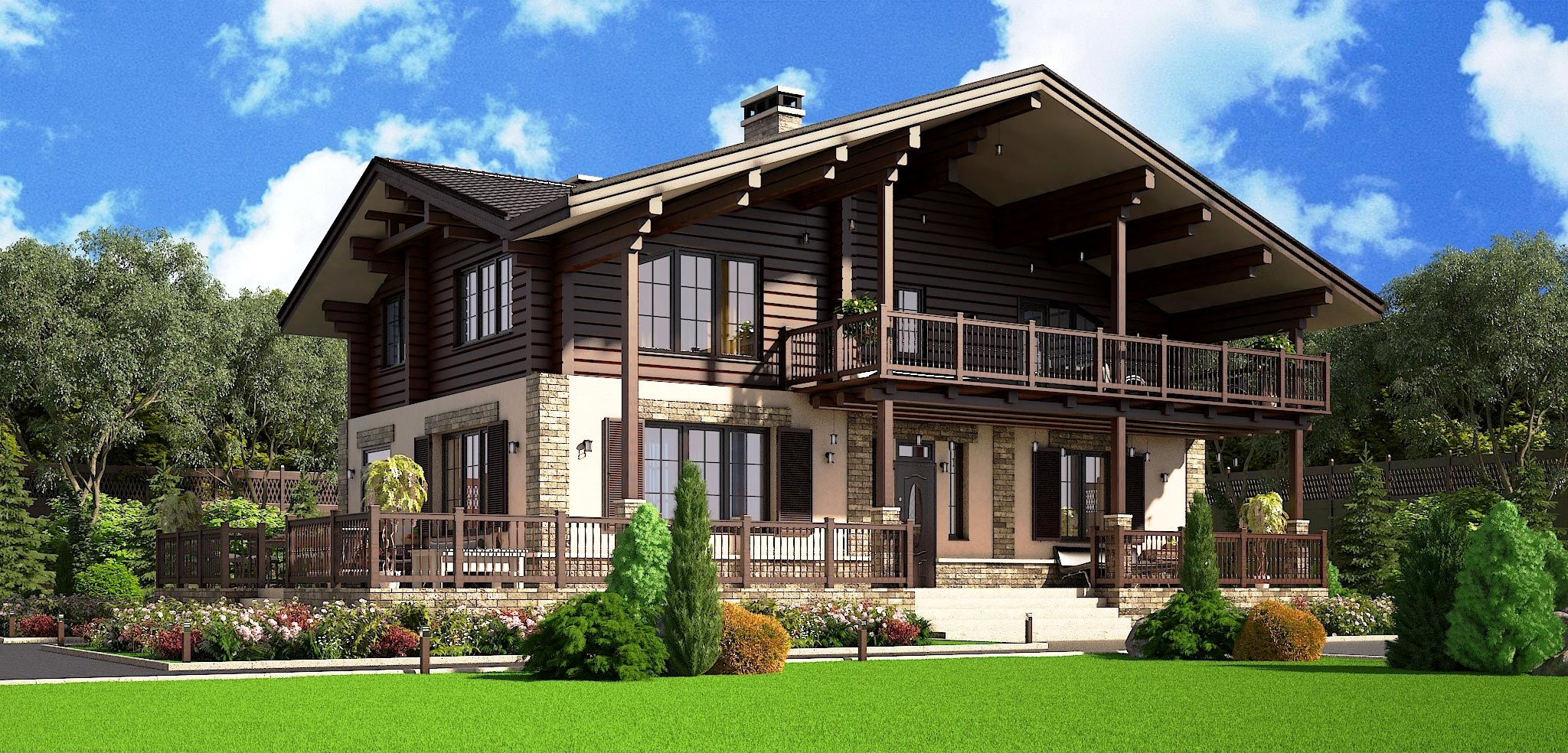 Проект дома К-064