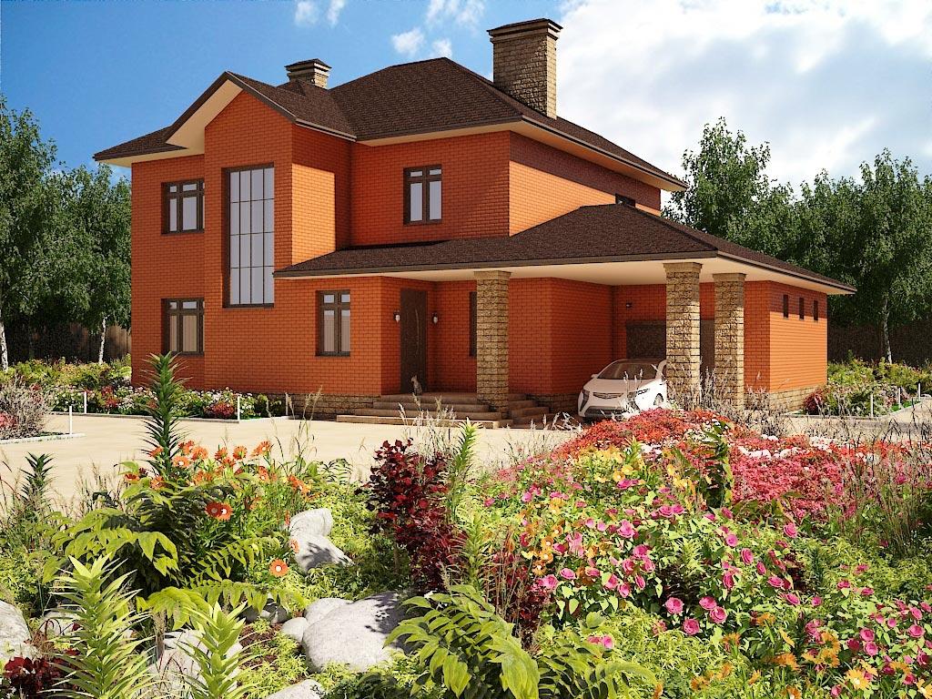 Проект дома К-072