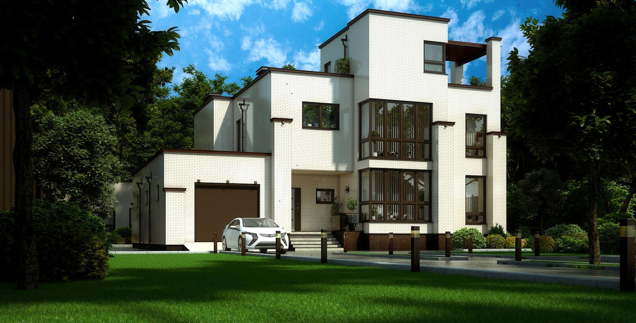 Проект дома К-351