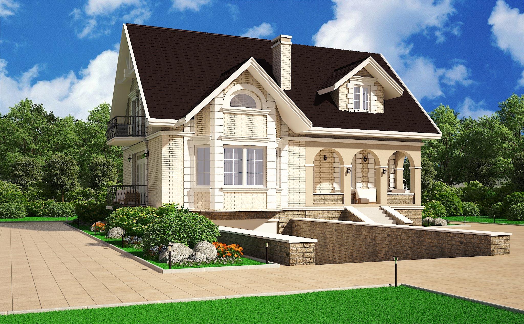 Проект дома К-087