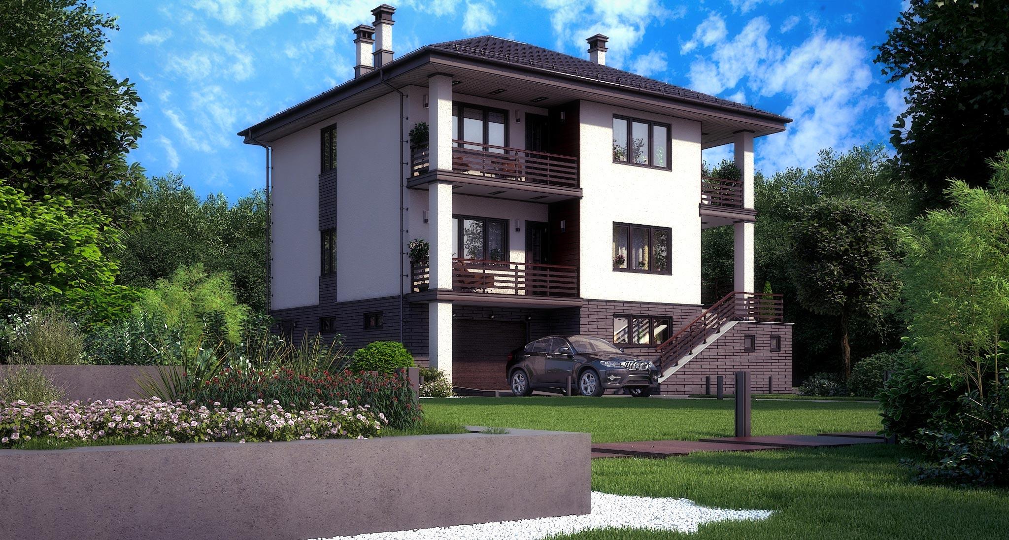 Проект дома К-328