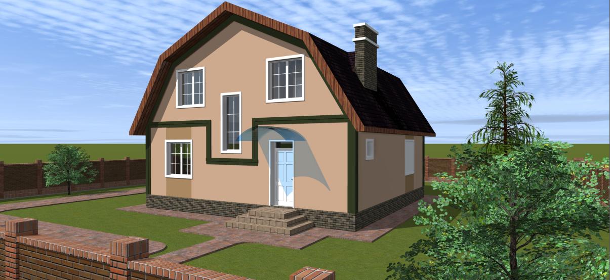 Проект дома К-294
