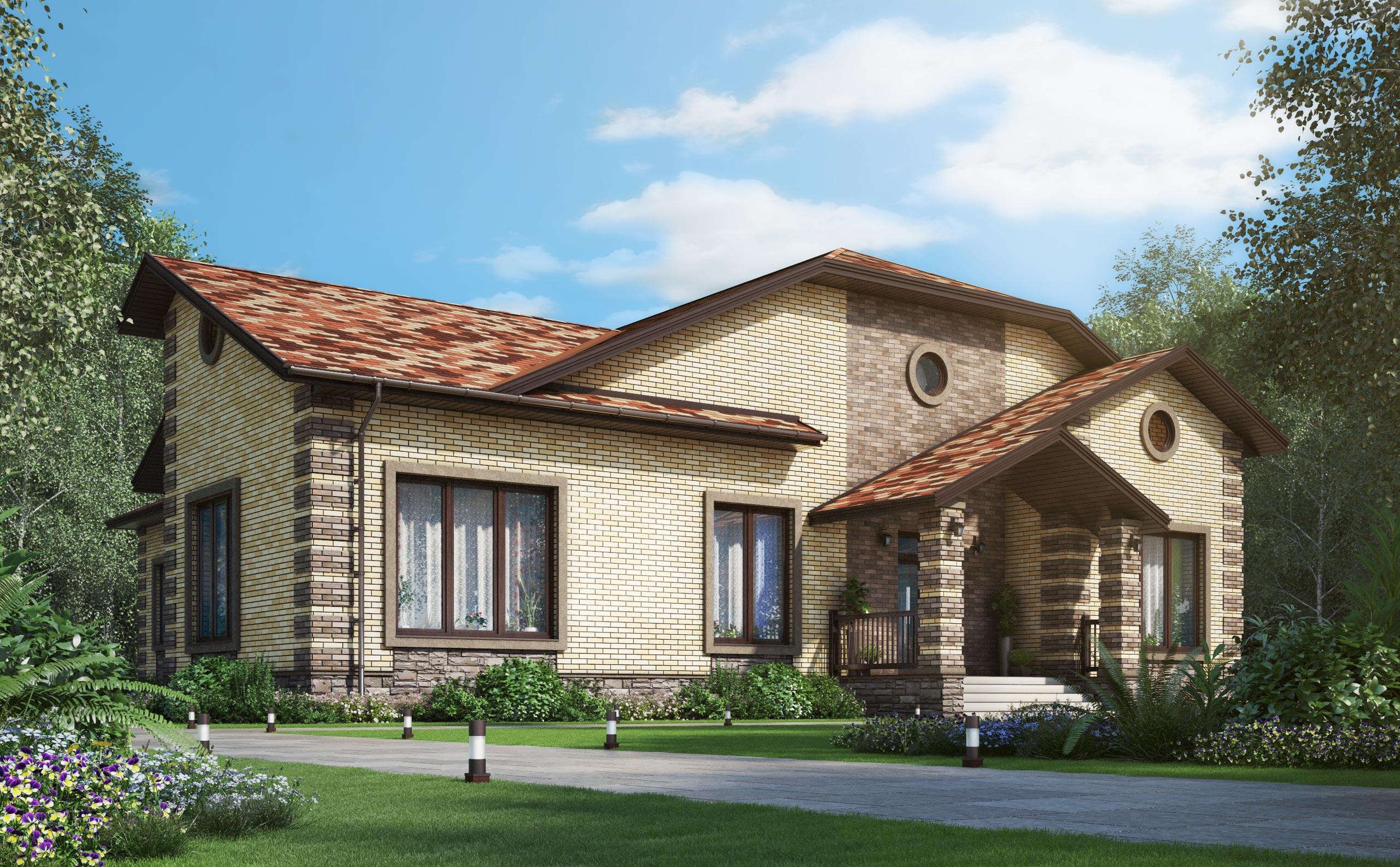Проект дома К-407