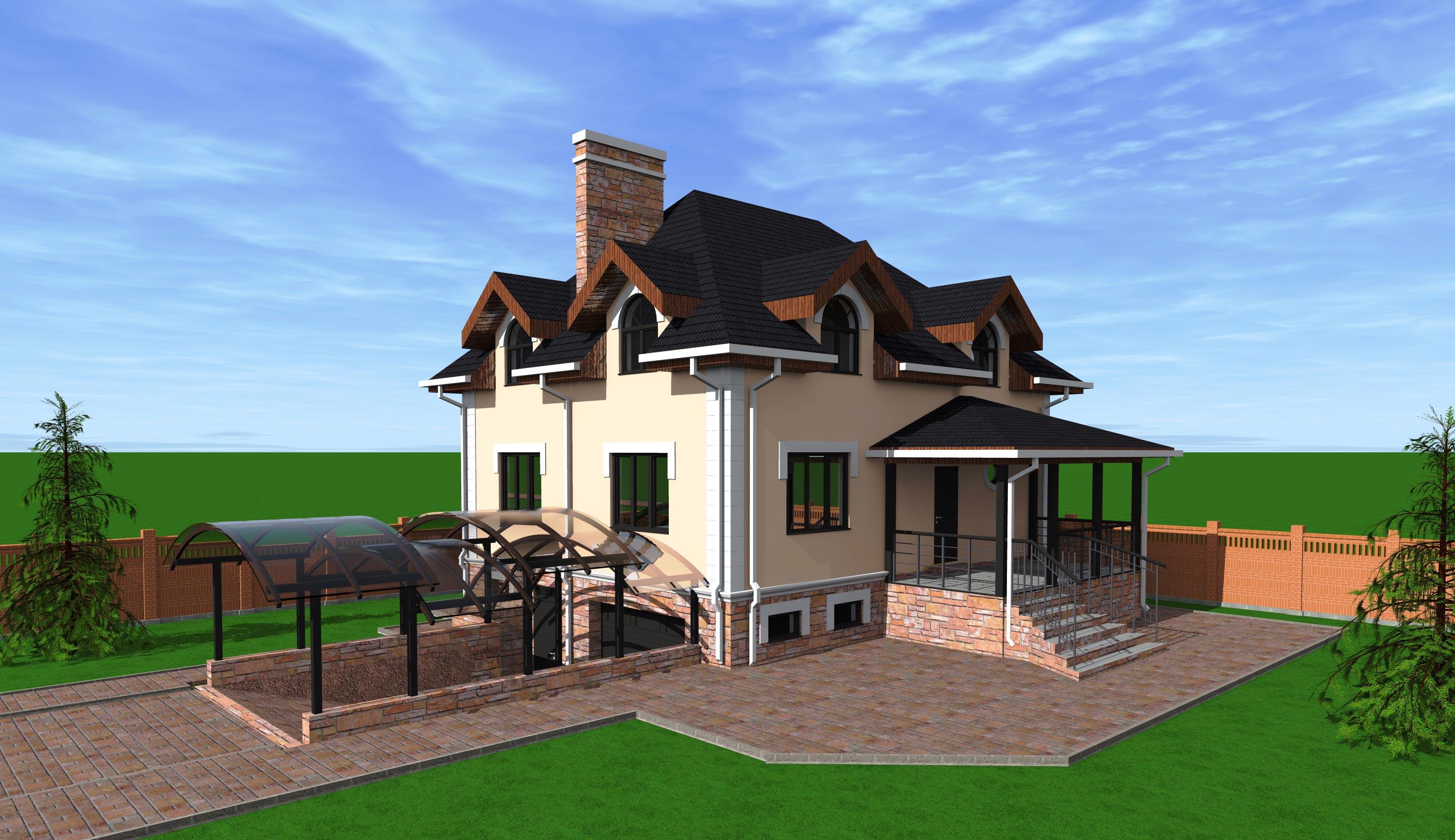 Проект дома К-222