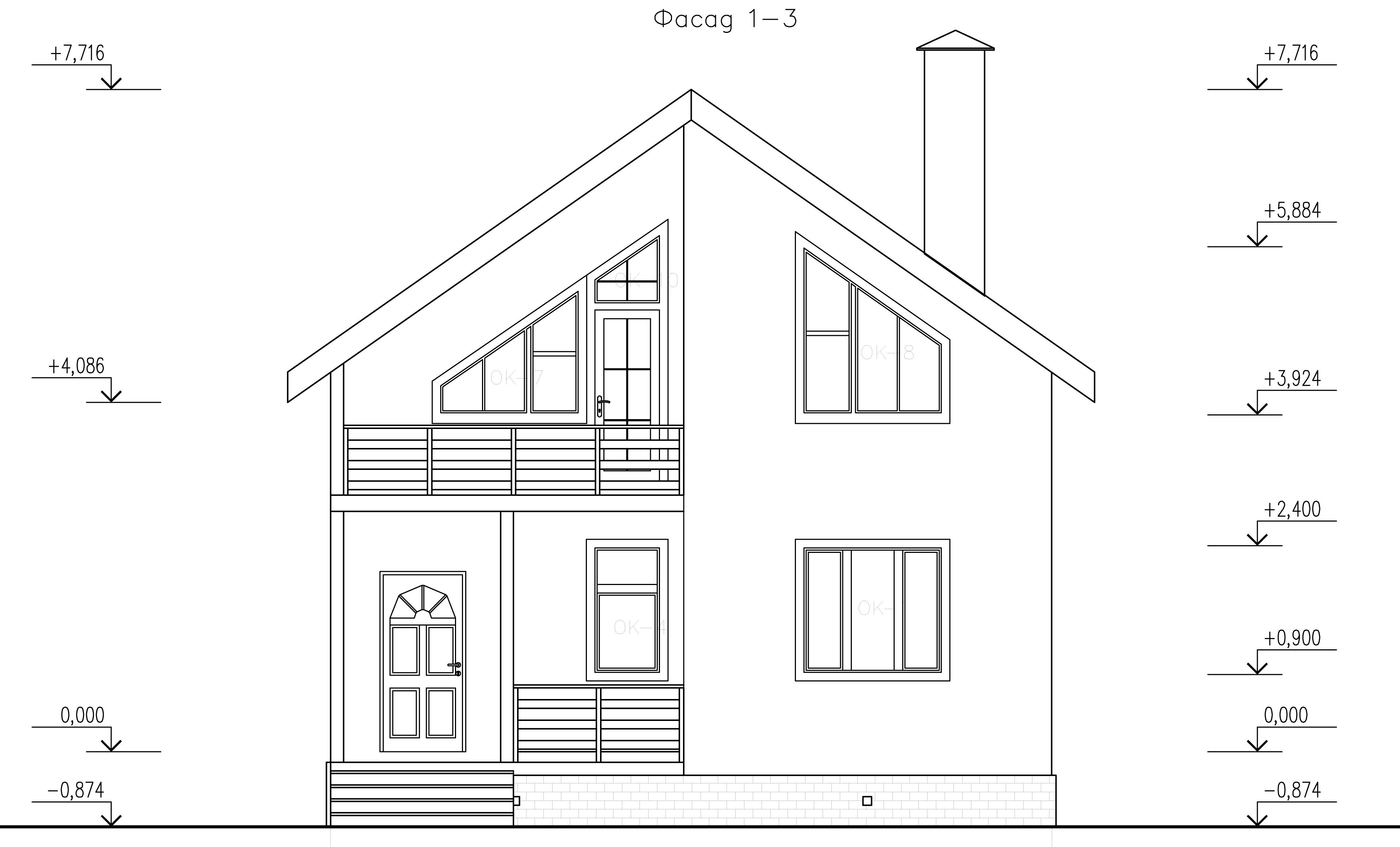 Проект дома Д-248