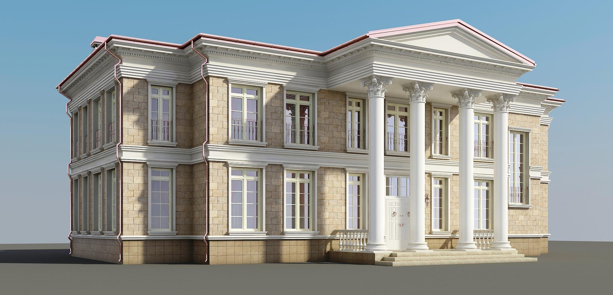 Проект дома К-253