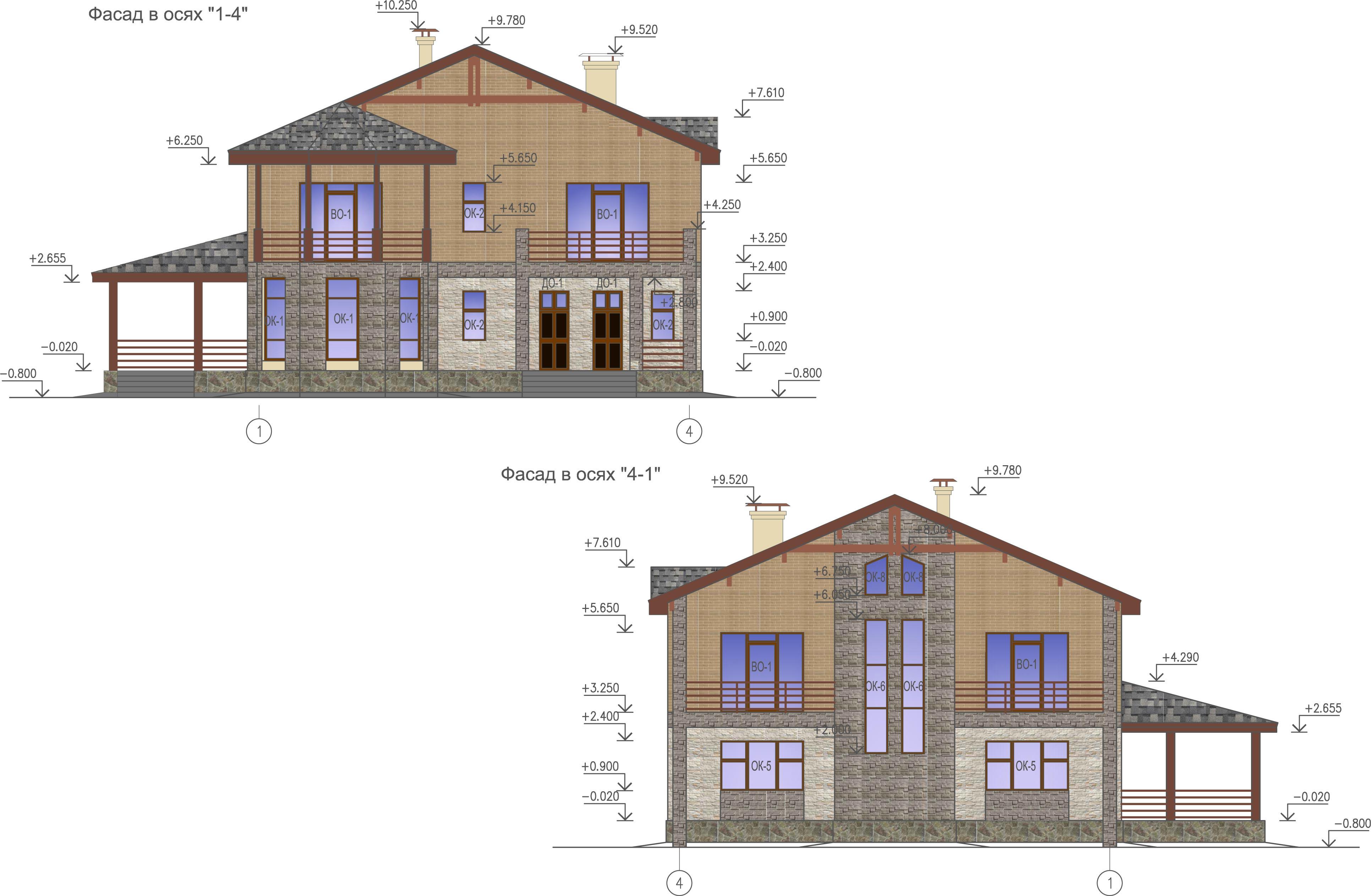 Проект дома К-345