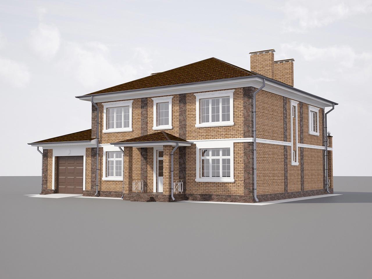 Проект дома К-421