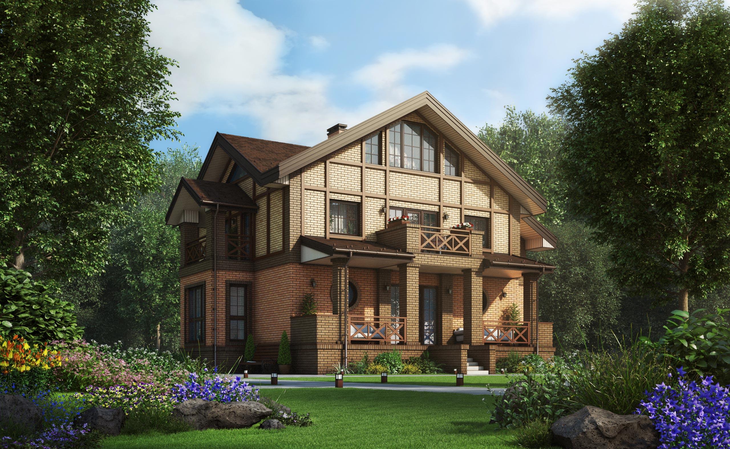 Проект дома К-390