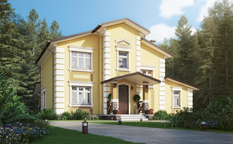 Проект дома К-411