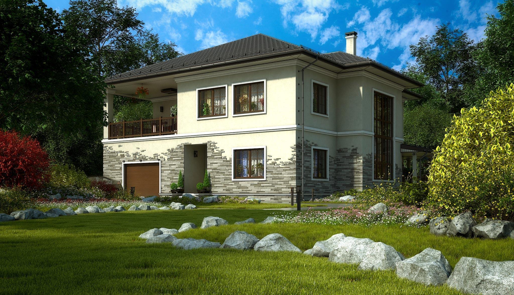 Проект дома К-356