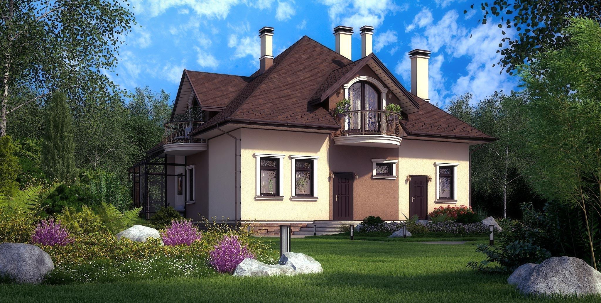 Проект дома К-362