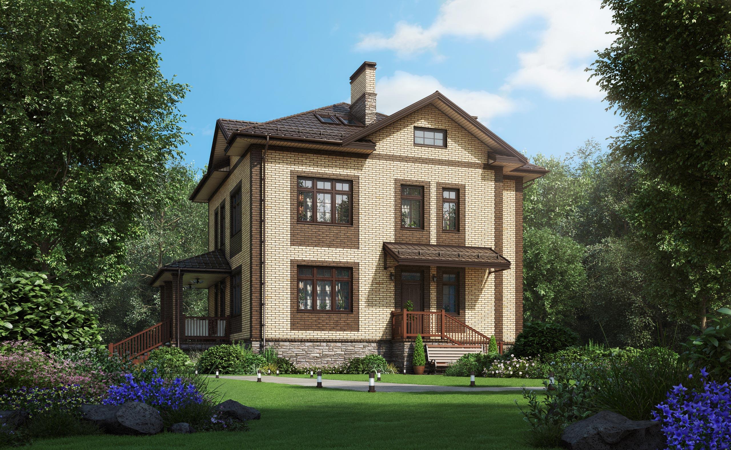 Проект дома К-370