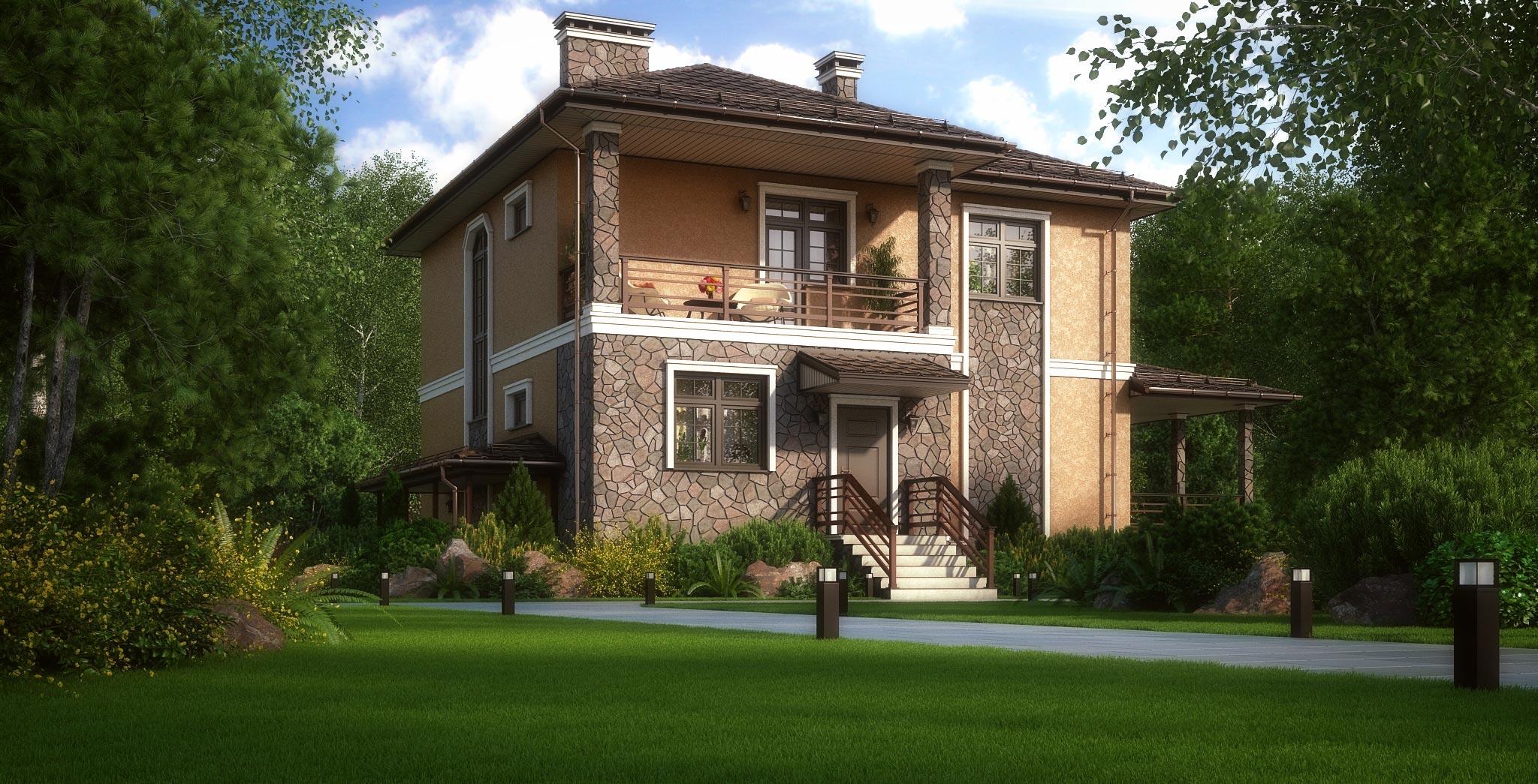 Проект дома К-372