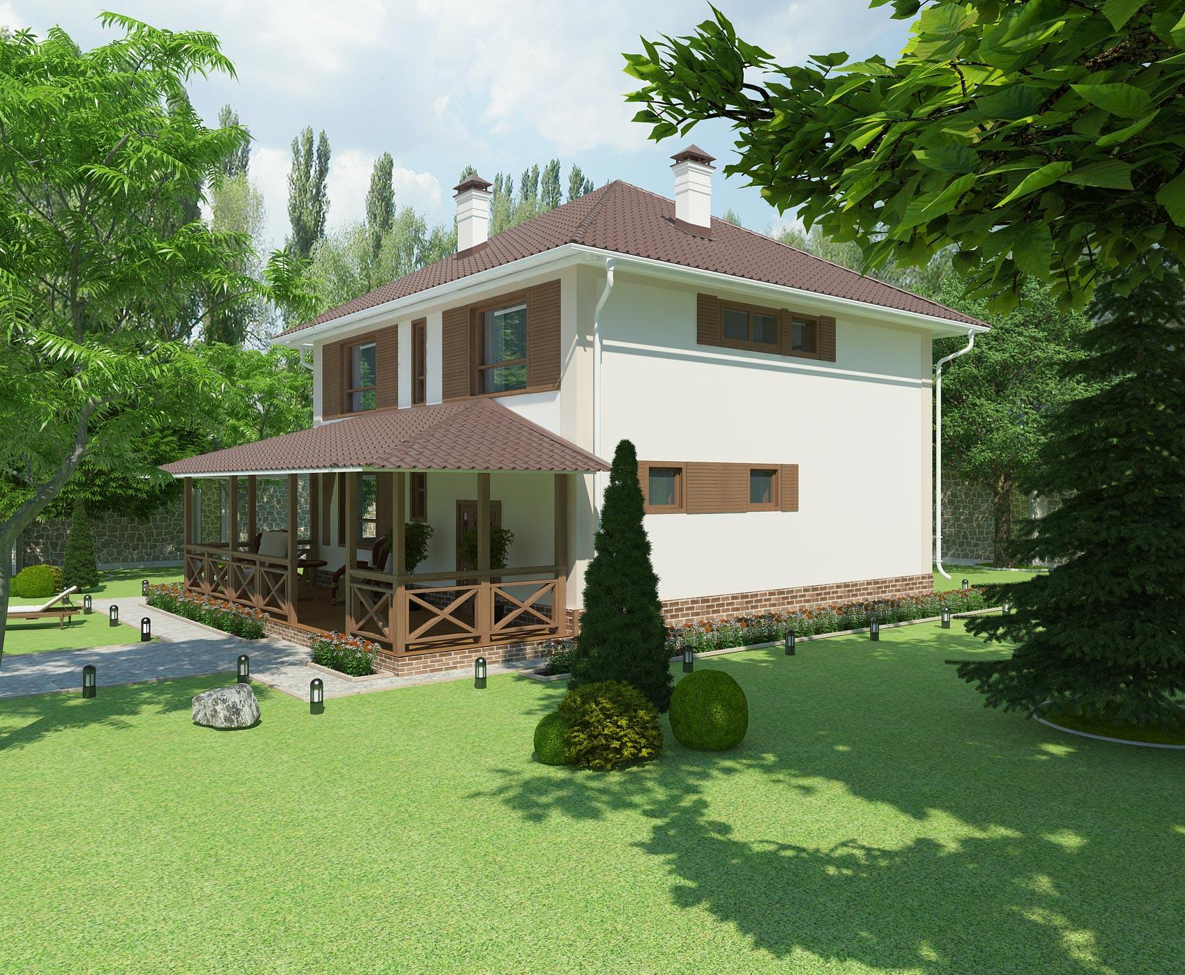Проект дома К-409