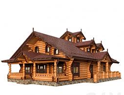 Деревянные дома из бревна под ключ