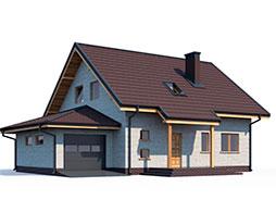 Маленькие дома из СИП панелей под ключ