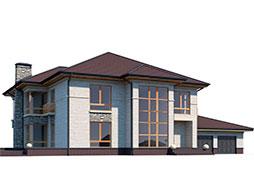 Дома из СИП панелей со 2м светом под ключ