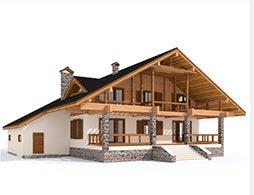 Комбинированные дома под ключ