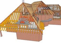 Проект четырехскатной крыши 3
