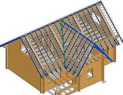 Проект двускатной крыши 4