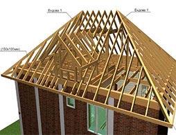 Проект вальмовой крыши 3