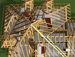 Проект шатровой крыши