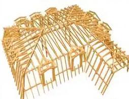 Проект вальмовой крыши 1