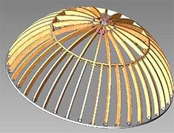 Проект арочной крыши 1