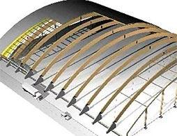Проект арочной крыши 3