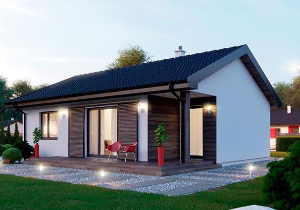 Проект одноэтажного дома 80 м2 -6