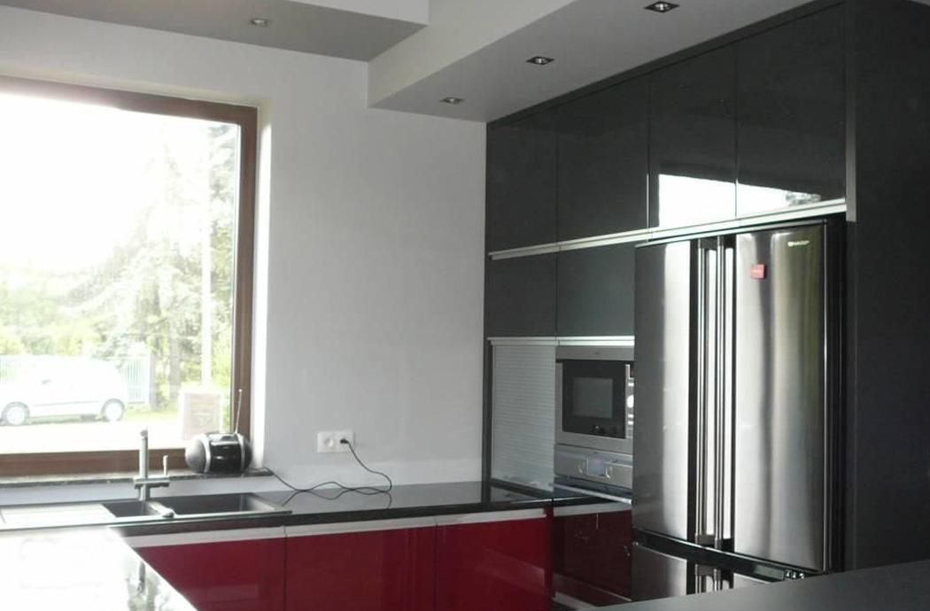 Строительство одноэтажного дома, площадью 181 м2, кухня