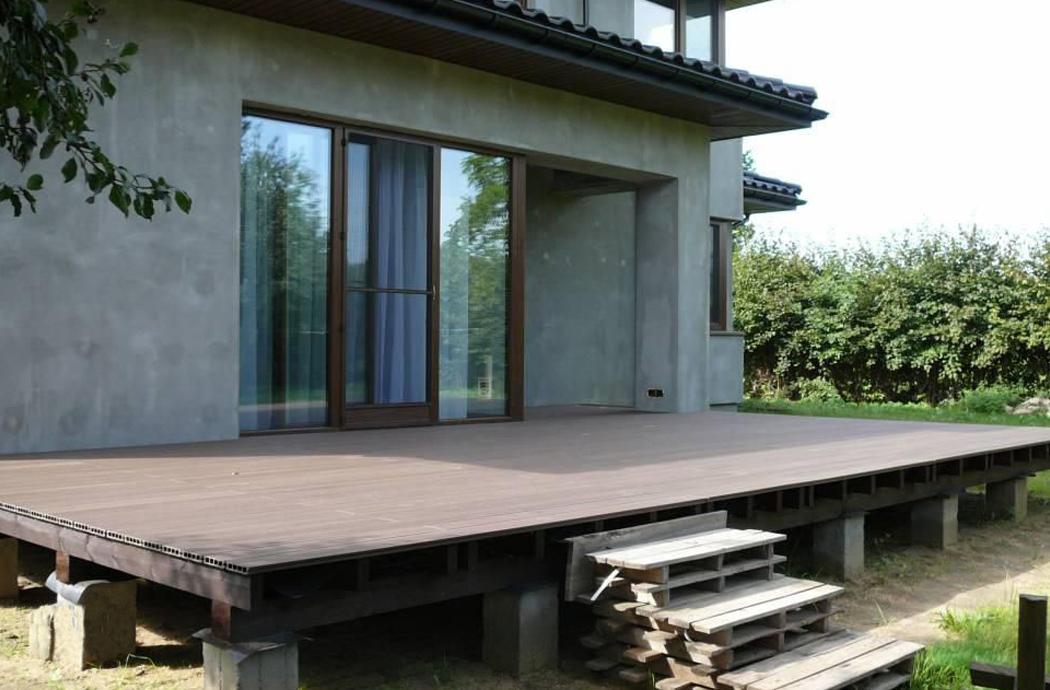 Строительство двухэтажного дома, площадью 181 м2, тирасса