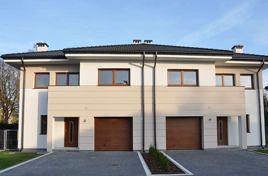 Строительство двухэтажного дома, площадью 250 м2 в стиле прерий
